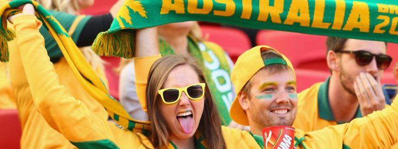 Asien - Australien Fotboll